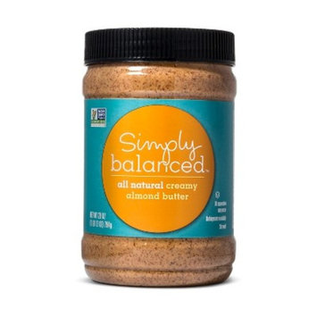 Almond Butter - 28oz - Simply Balanced™