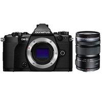 Olympus OM-D E-M5 Mark II Micro Digital Camera + M.ZUIKO ED 12-50mm Lens Black