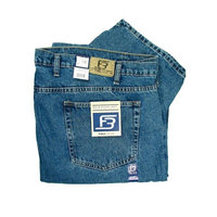 Full Blue Big and Tall 90203OS-LY Relaxed 5 Pocket Denim Jean INDIGO 66-28