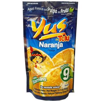 Malher Yus Orange Powder Drink 12.7 oz (Pack of 6)