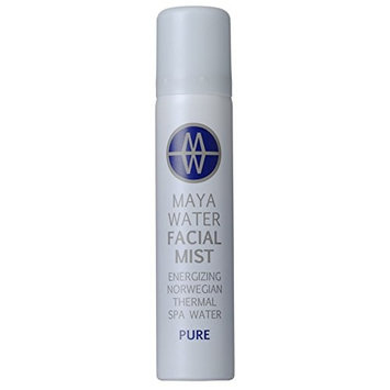 MAYAWATER - All Natural/Organic Thermal Spa Water Facial Mist (Pure) (2.37 oz/70 ml)