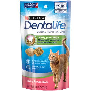 Purina DentaLife Savory Salmon Flavor Cat Treats