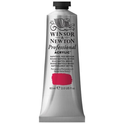 Winsor & Newton 2320423 60 ml AAC Tube - Naphthol Red Medium