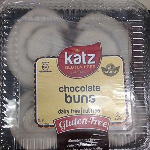 Katz Gluten-free Chocolate Buns (2 Pack)