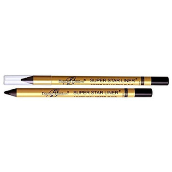 1 pc Diana of london super star black eyeliner single stroke smudge proof, long stay ( Sealed with latest stock)