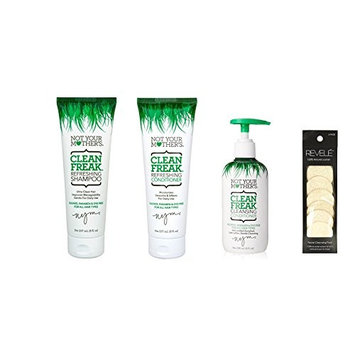 Clean Freak Refreshing Combo HairCare Set WITH REVELE LOOFAH (6 CT)