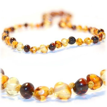 The Art of Cure Baltic Amber Teething Necklace - Multicolored