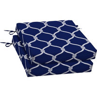 Arden Companies Better Homes and Gardens Outdoor Patio Dining Seat Cushion, Set of 2