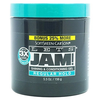 Softsheen Carson Let's Jam Shining And Conditioning Gel, 5.5 Ounce by Softsheen Carson