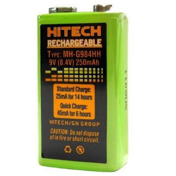 Hitech - 9V Rechargeable Battery (250mAh)