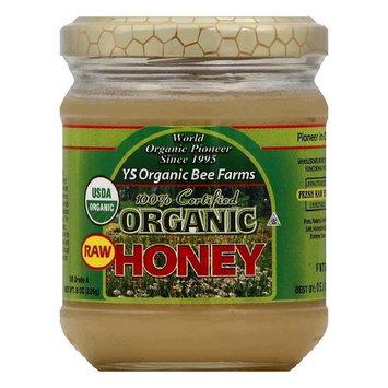 YS Organic Bee Farms Organic Raw Honey, 8 OZ (Pack of 6)