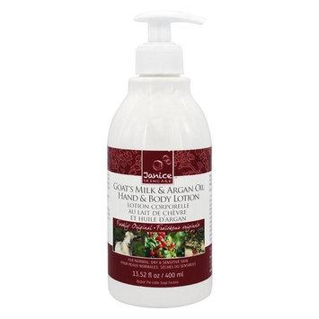 Goat's Milk & Argan Oil Hand & Body Lotion Freshly Original - 13.52 fl. oz.