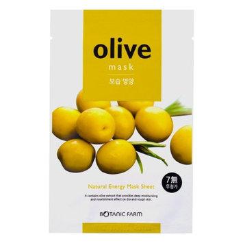 BOTANIC FARM Natural Energy Mask Sheet Olive Mask 20ml