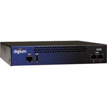 Digium Inc. Digium G200 Dual T1/E1/PRI Appliance - 3 x RJ-45 - Gigabit Ethernet