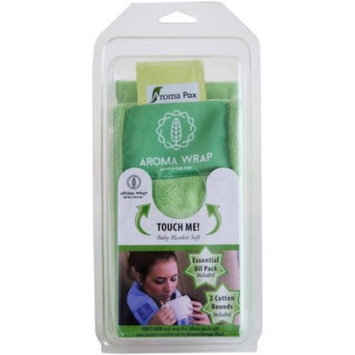 Aroma Wrap Heated or Cooled Herbal Neck Wrap with an Essential Oil Pack, Logo Pocket choice of Aroma Wrap or Bible Verse