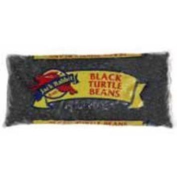 Jack Rabbit Prewashed Black Beans - 50 lb. package, 1 package per case