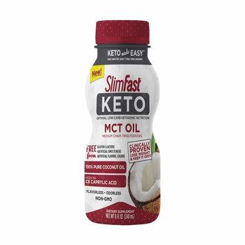 SlimFast Keto MCT Oil 8 Fl Oz Bottle, 16 Servings