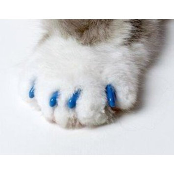 Soft Claws for Cats Blue Lg