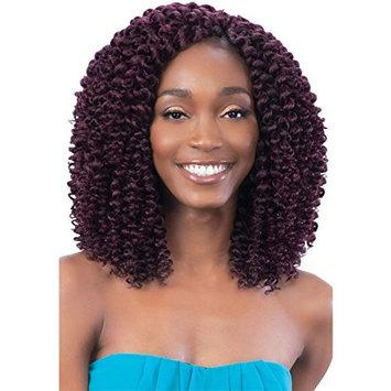 SPIRAL WAND CURL (4 Medium Brown) - Model Model Glance 2X Wand Curl Synthetic Braid