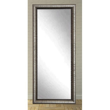 BrandtWorks American Accent Leaning Floor Mirror - Silver