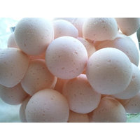 14 CREAMY COCONUT Bath Bomb Fizzies with Shea, Mango and Cocoa Butter, Ultra Moisturizing...Great for Dry Skin, all skin types (Creamy Coconut)