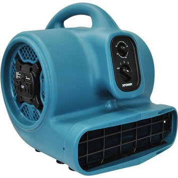 XPower P-450AT 3 Speeds Air Mover w/ Daisy Chain, 3-Hour Timer & Refillable Scent Cartridge (PP)