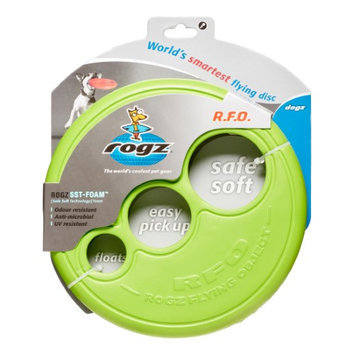 Rogz Flying Object Throwing Disc Dog Toy