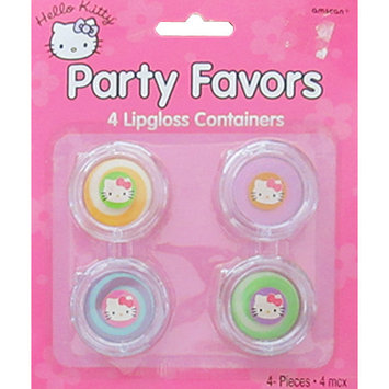 Hello Kitty Lip Gloss / Favors (4ct)