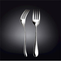 Wilmax 999111 9 in. Serving Fork in White Box Packing Pack of 144