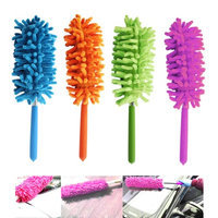 Atb Telescoping Microfiber Duster Extendable Cleaning Dust Home Office Car Tool New