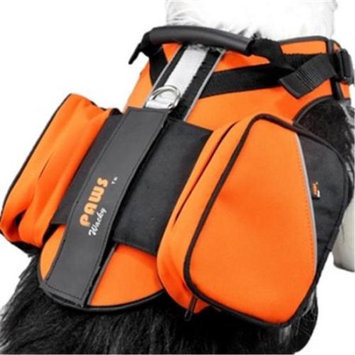 Wacky Paws WPH015-OR Sport Pet Travel Harness, Orange, Small