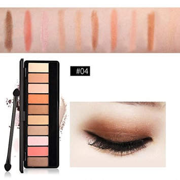 Big Promotion!Pro Eyeshadow Palette,ZYooh Fashion Cosmetics Shimmer Matte Eyeshadow 10 Colors Palette Makeup Beauty New