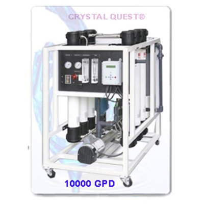 Crystal Quest CQE-CO-02031 Commercial Reverse Osmosis 10000 GPD Water Filter System