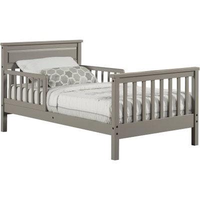 Dorel Asia Dorel Living Baby Relax Haven Toddler Bed, Gray