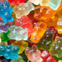12 Flavor Assorted Gourmet Gummi Bears, 1 lb