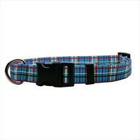 Yellow Dog Design TB100C Tartan Blue Standard Collar - Cat