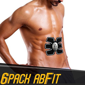 Pureaid Hi-Intensity 6 Pack AbFit Electro Muscle Abdominal Trainer - Get Your Abs FIT, Anytime Anywhere!