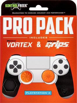 U & I Entertainment Kontrolfreek - Pro Pack For Playstation 4 - Black/orange
