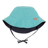 Lassig™ Size 18-36M Reversible Sun Protection Bucket Hat in Aqua/Navy