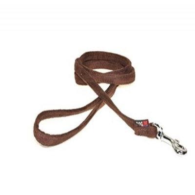 Dogline M8060-9 6 ft. L x 0. 38 W inch Comfort Microfiber Dog Leash, Purple