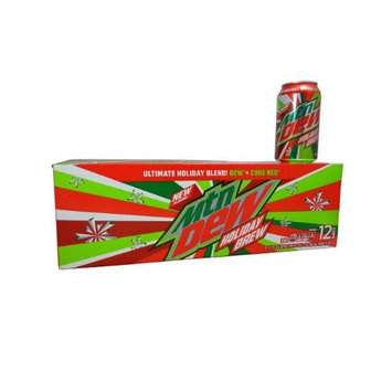 Mtn Dew Holiday Brew 12 Pack of 12oz Cans