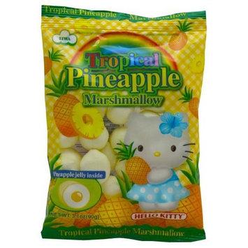 Hello Kitty Pineapple Marshmallows, 3.1-Ounce (Pack of 5)