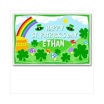 Olive Kids St Patty's Day Placemat