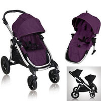 Baby Jogger 81268KIT2 2011 City Select Stroller with Second Seat - Amethyst