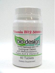 Vitamin B12 5000 mcg 60 tabs by Biodesign