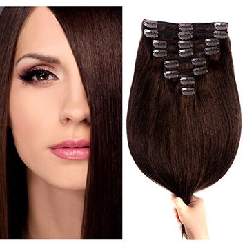 SuperNova Remy Human Hair Clip ins Extensions
