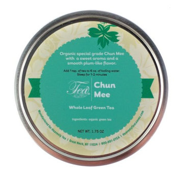 Heavenly Tea Inc. Heavenly Tea Leaves Chun Mee Loose Leaf Tea Canister, 1.75 oz.