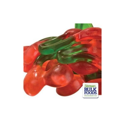 Haribo Gummi Twin Cherries 6/5lb Factory Sealed Bags