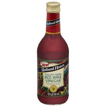 Holland House. Holland House Italian Herb Red Wine Vinegar, 12 fl oz, (Pack of 6)