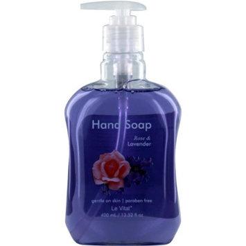Le Vital 1930972 Rose & Lavender Hand Soap - Case of 12